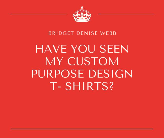 Have you seen my custom purpose design
